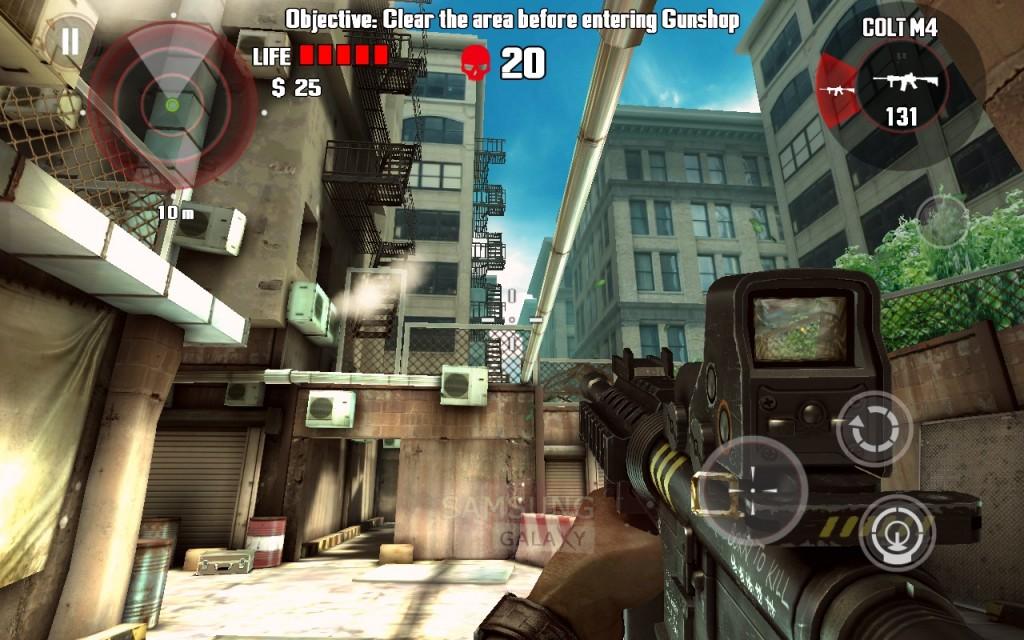 Игра Dead Trigger - графика HD