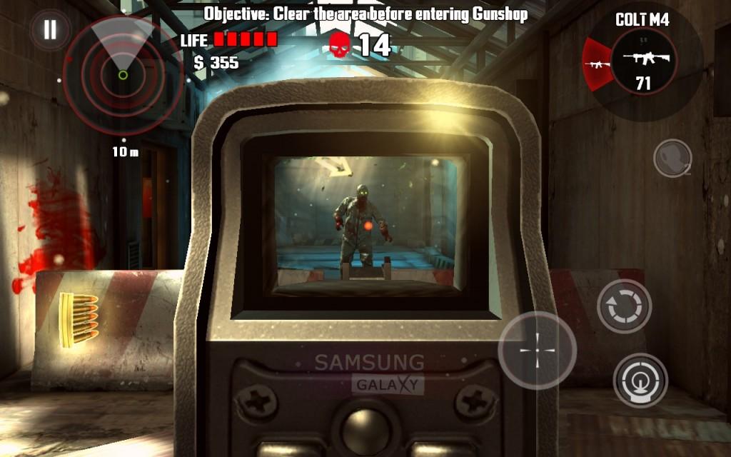 Игра Dead Trigger - в прицеле