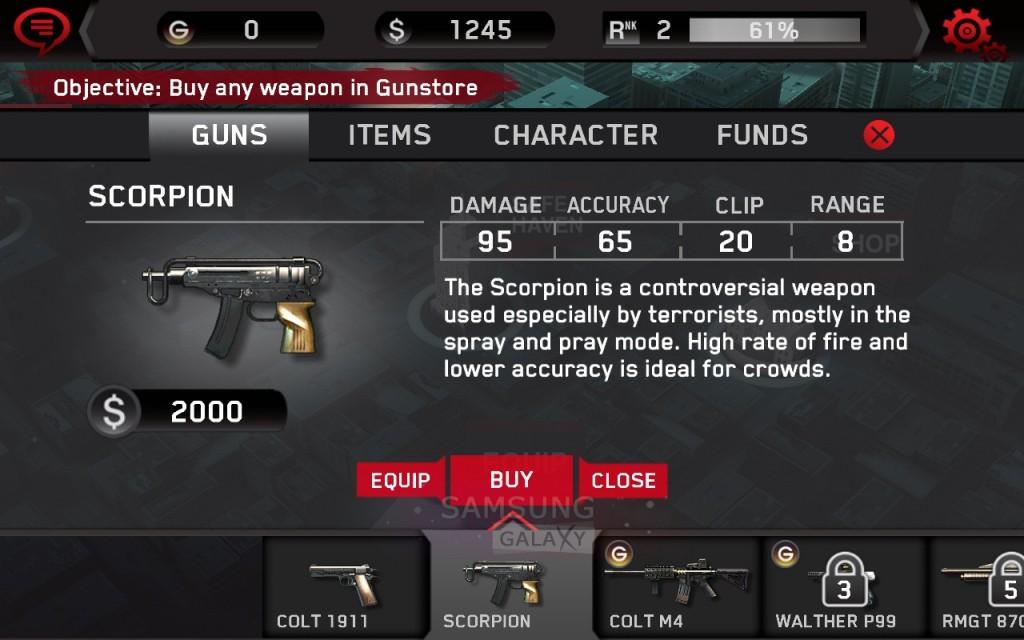 Игра Dead Trigger - магазин