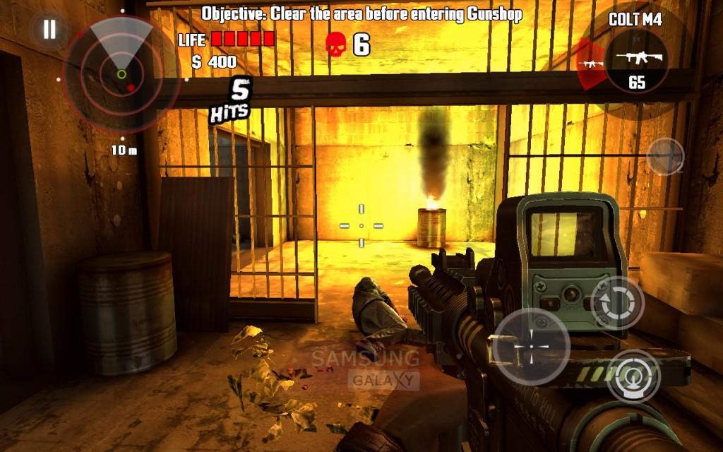 Игра Dead Trigger - супер HD графика!