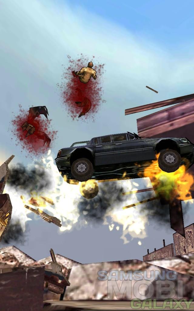 Игра Mutant Roadkill - гонки во вселенной Borderlnds для Android