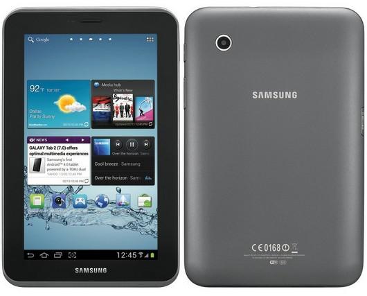 Внешний вид планшета Samsung Galaxy Tab 2 7.0 P3100