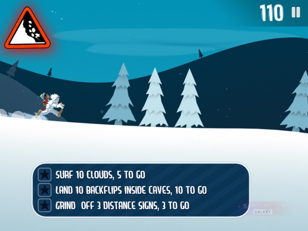 Игра Ski Safari для Android
