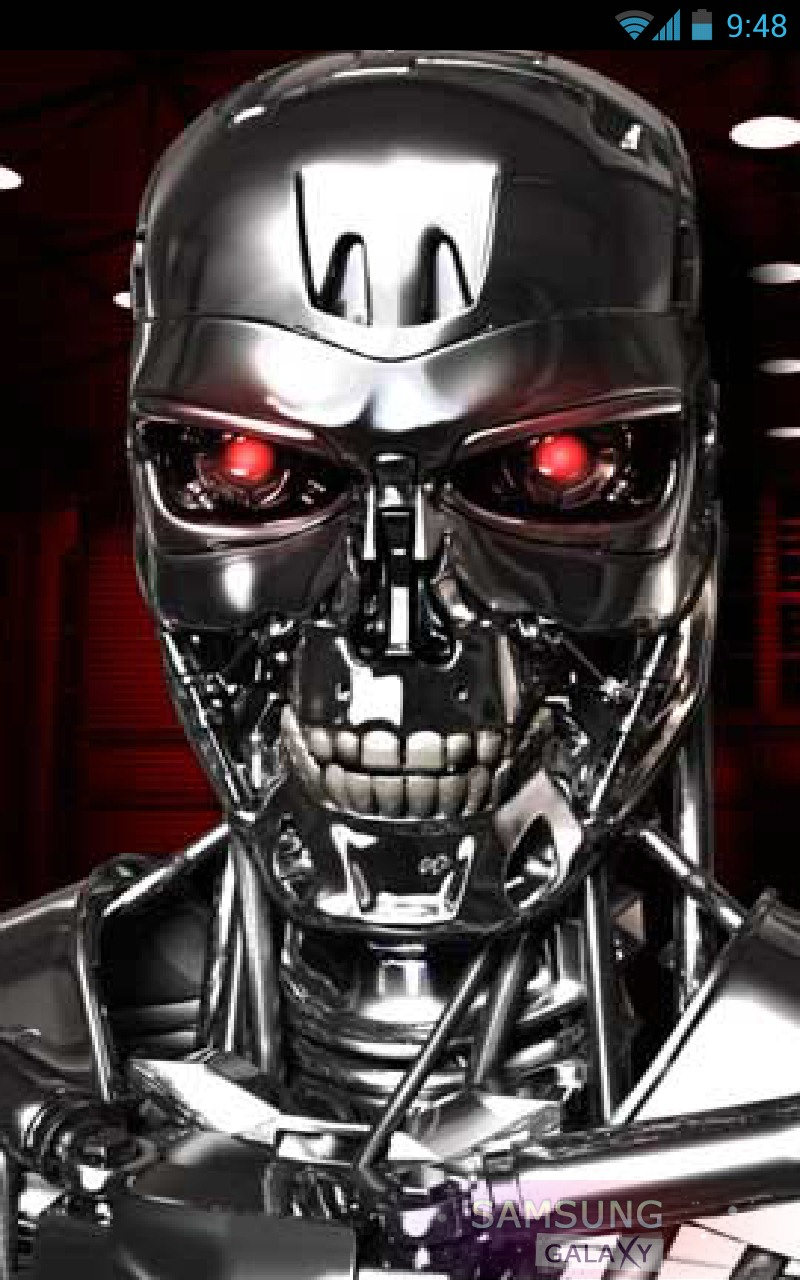 Talking Cyborg - программа с говорящим роботом для Samsung Galaxy
