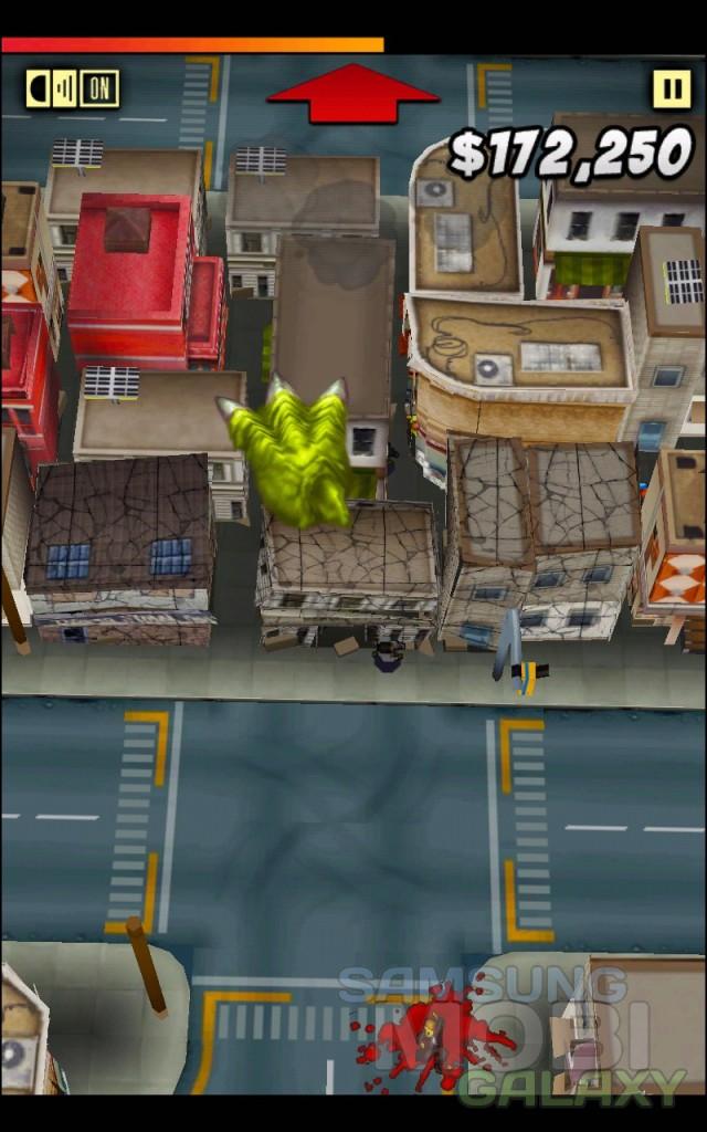 ThumbZilla - игра для Samsung Galaxy Ace 2 S3 Note, Gio и Tab