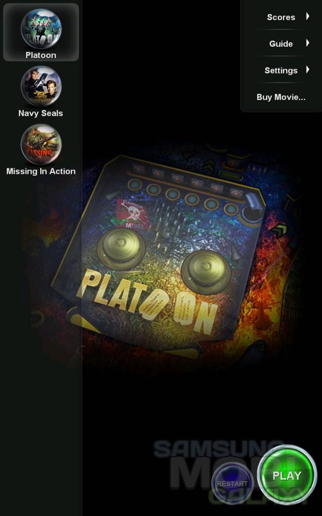War Pinball HD - военный пинбол для Samsung Galaxy Ace, S 3, Note, Gio