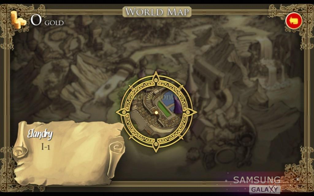 Игра Ancient Magic Book - карта