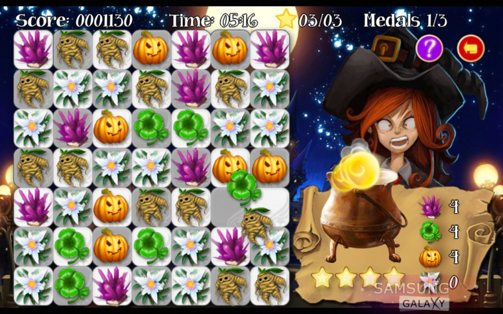 Игра Ancient Magic Book на Samsung Galaxy Note, Ace, Gio, S III, S 2