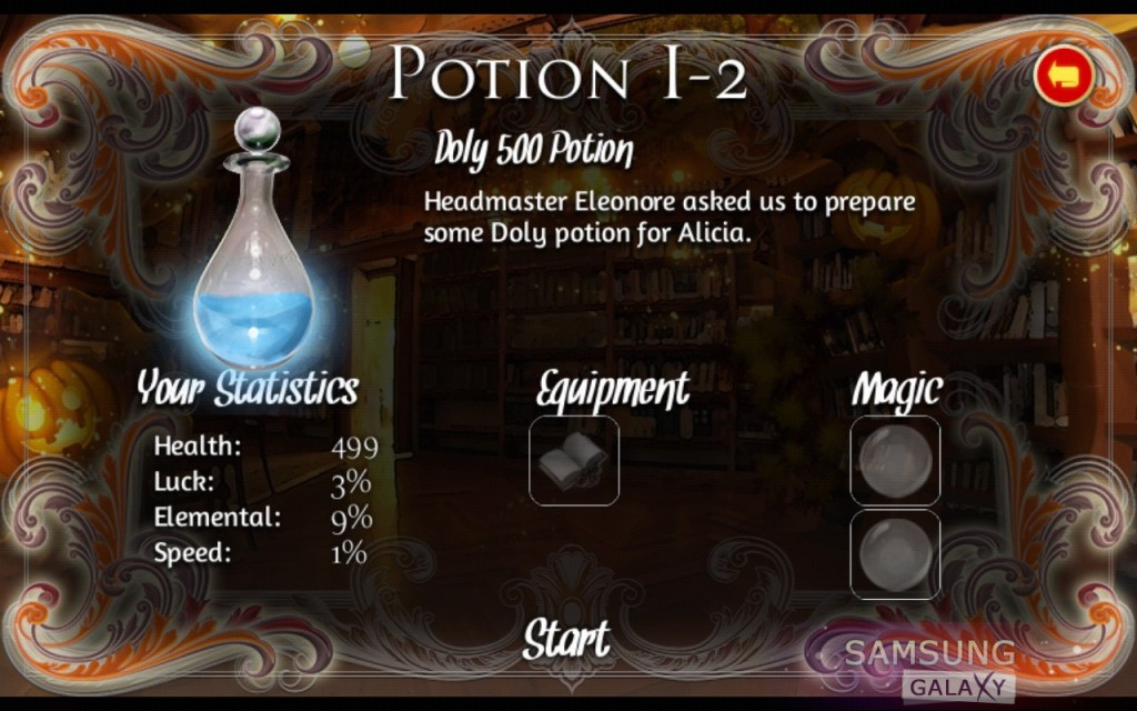 Игра Ancient Magic Book - зелья