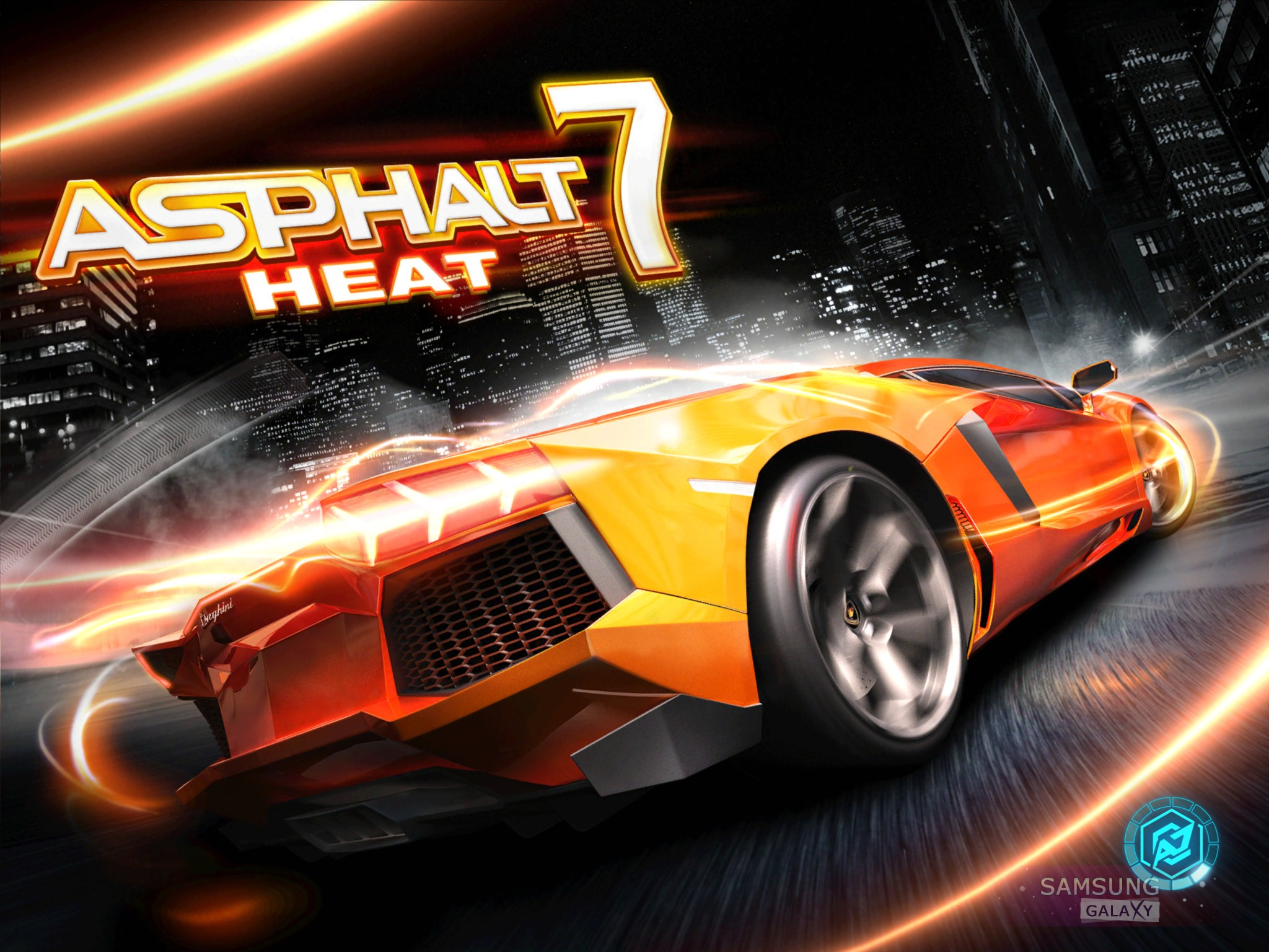 Asphalt 7 Heat для Samusng Galaxy Note, S III, Ace, S 2, Gio
