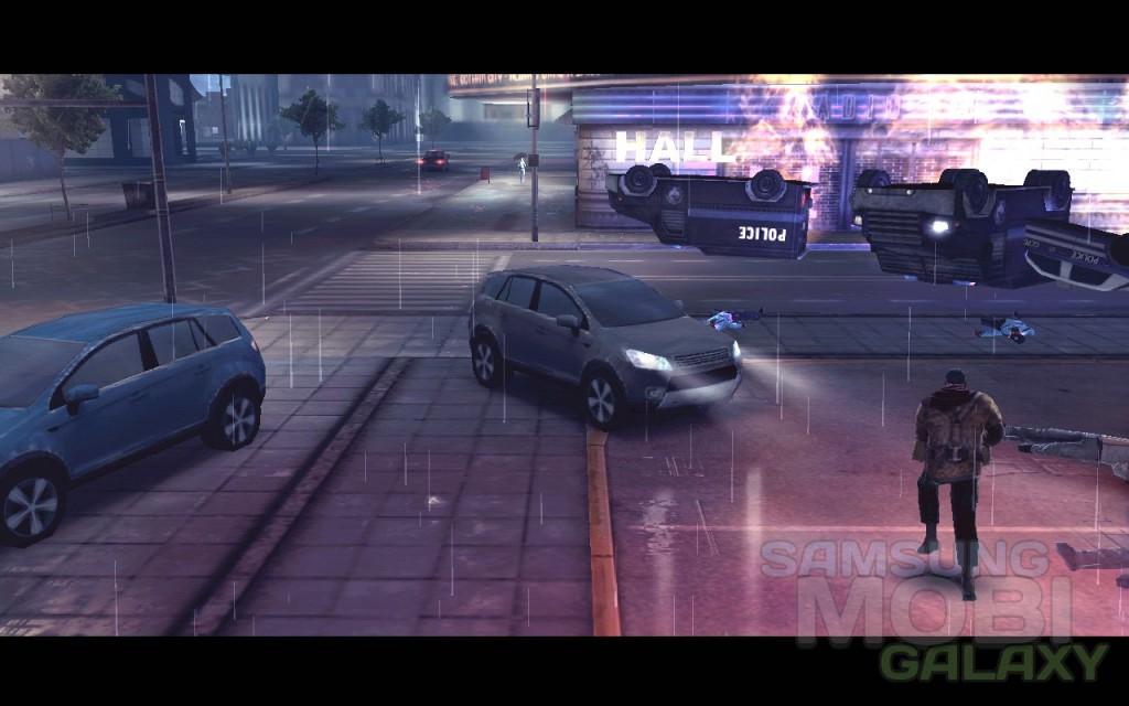 """Игра """"Темный рыцарь: Возрождение"""" для Android, графика"""