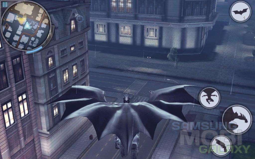 """Игра """"Темный рыцарь: Возрождение"""" - полеты"""