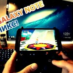 Samsung Galaxy Note и джойстик от PS3