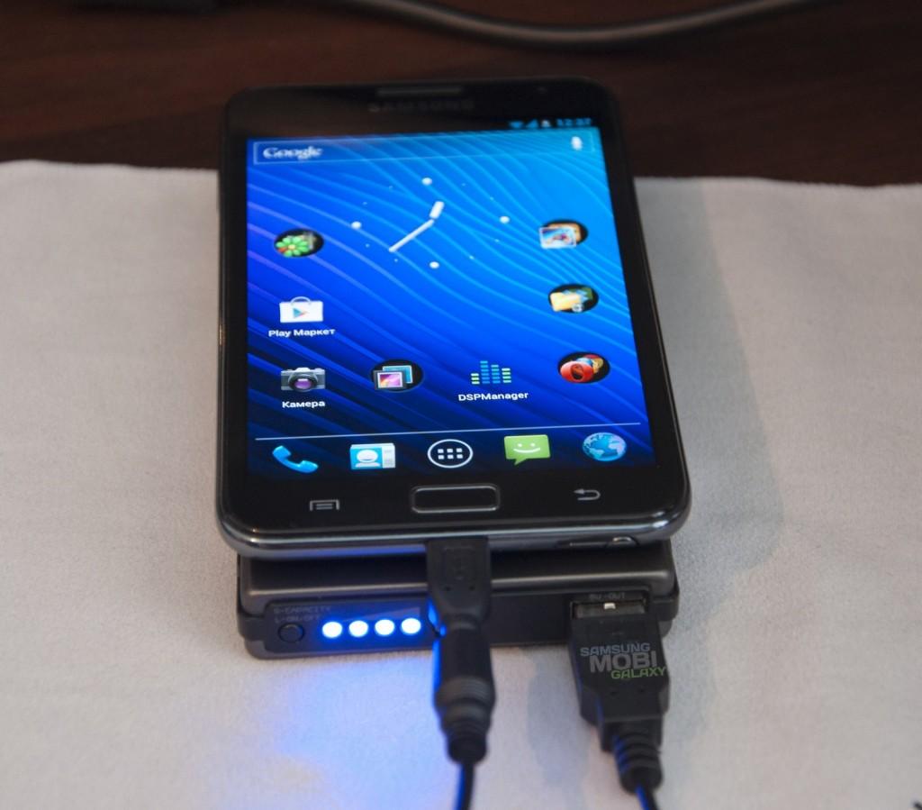 Портативное зарядное (без сети) для Samsung Galaxy