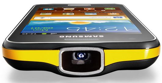 Проектор в Samsung Galaxy Beam