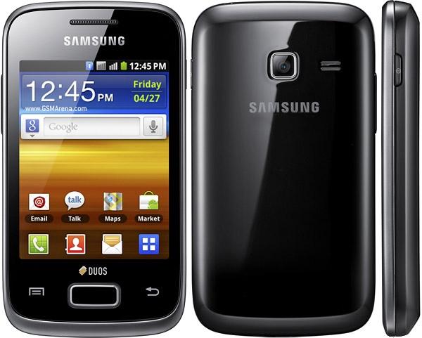 Внешний вид Samsung Galaxy Y Duos S6102