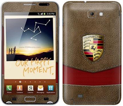 Виниловые наклейки (автомобили) на Samsung Galaxy Note