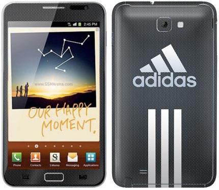 Виниловые наклейки (адидас) на Samsung Galaxy Note