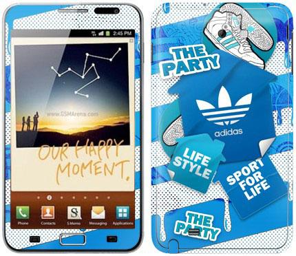 Виниловые наклейки (спорт) на Samsung Galaxy Note