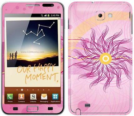 Виниловые наклейки (гламур) на Samsung Galaxy Note