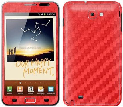 Виниловые наклейки (VIP) на Samsung Galaxy Note