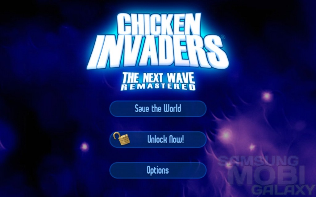 Игра Chicken Invaders 2 для Samsung Galaxy Note Ace2 SIII