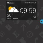 GO Weather EX - лучший виджет погоды для Samsung Galaxy Note Ace 2 S3 Gio Tab