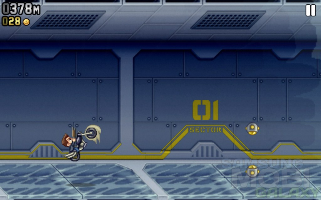 Jetpack Joyride на Samsung Galaxy Note Ace 2 SIII Gio и Tab