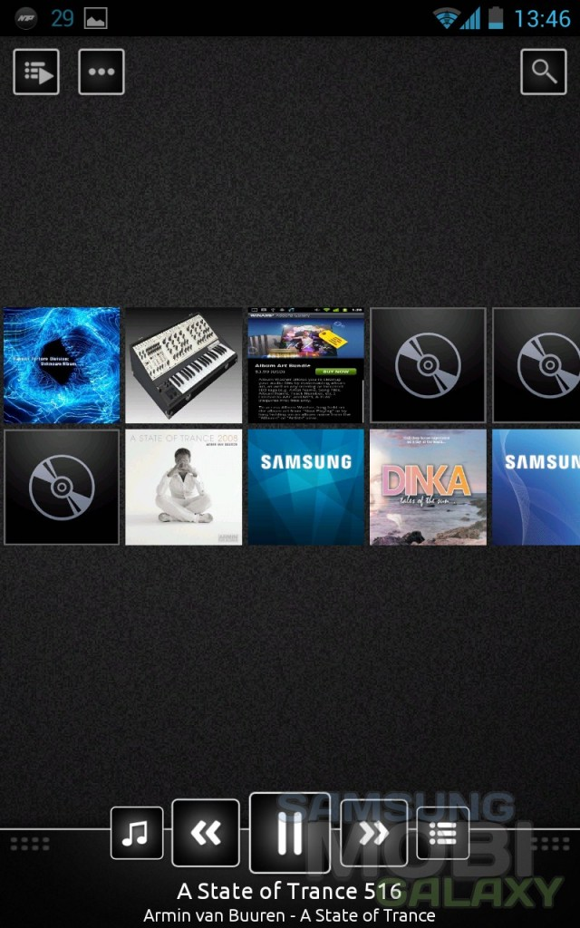 n7player - музыкальный плеер для Samsung Galaxy