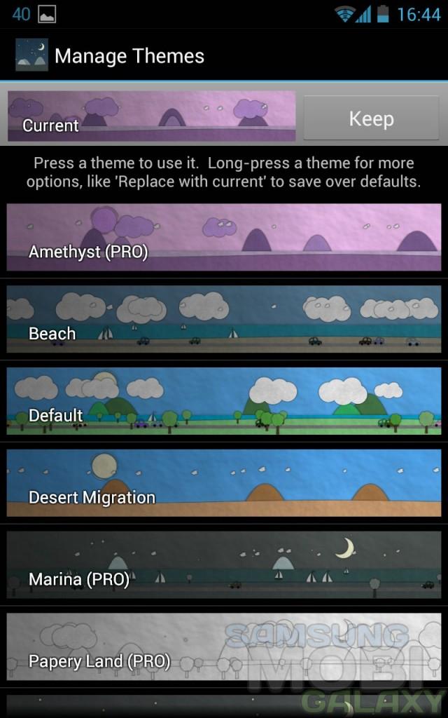 Paperland - оригинальные живые обои для Android, темы