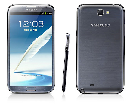 Samsung Galaxy Note II черный