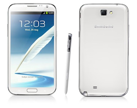 Samsung Galaxy Note II белый