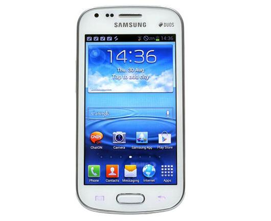 Лицевая панель Samsung Galaxy S Duos S7562