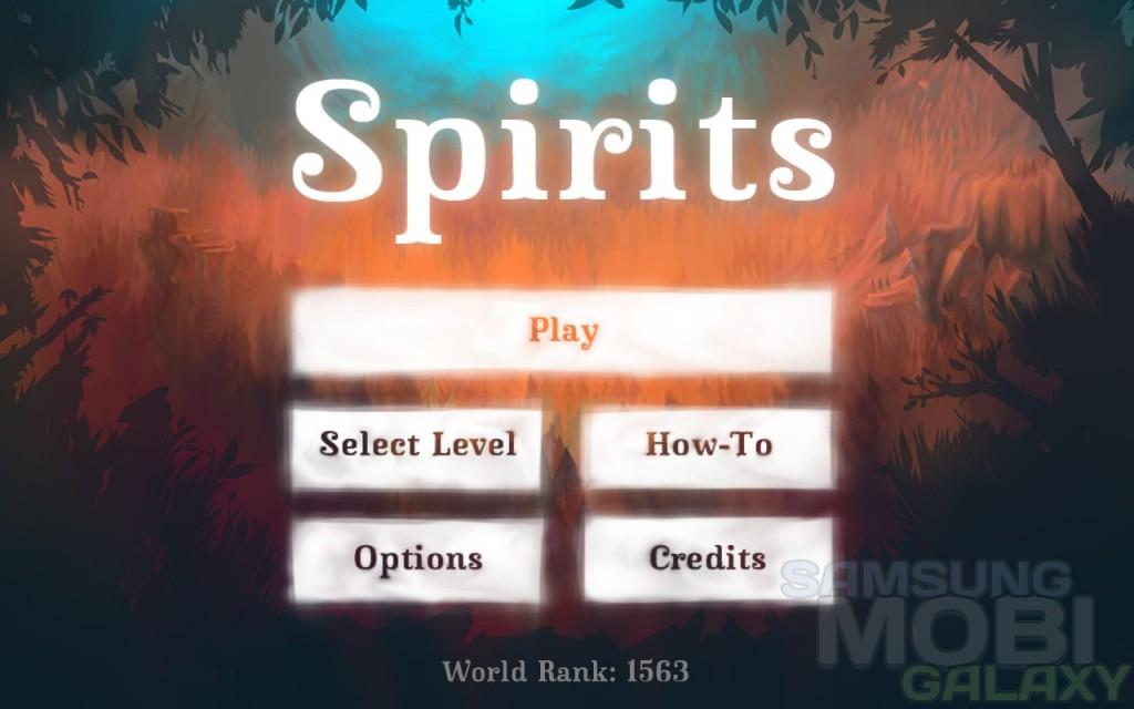 Обзор игры Spirits на Samsung Galaxy Note