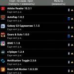 Программа Titanium Backup для Samsung Galaxy Ace Tab S 3 Note Gio