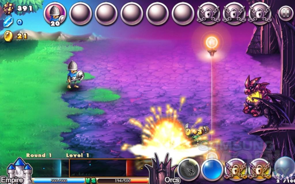 Игра Empire VS Orcs для Андроид