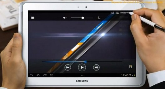 Демо Samsung Galaxy Note 10.1 - официальное видео