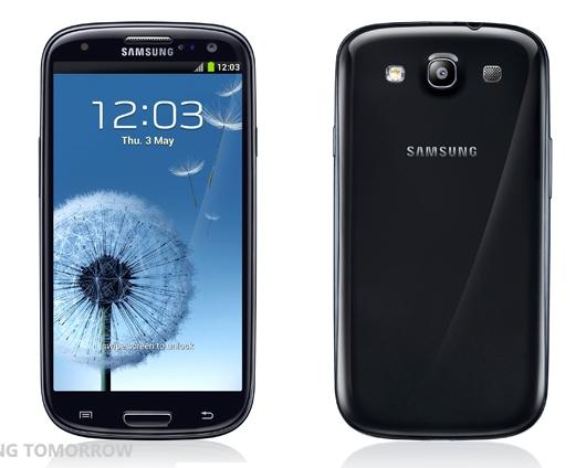Черный Samsung Galaxy SIII