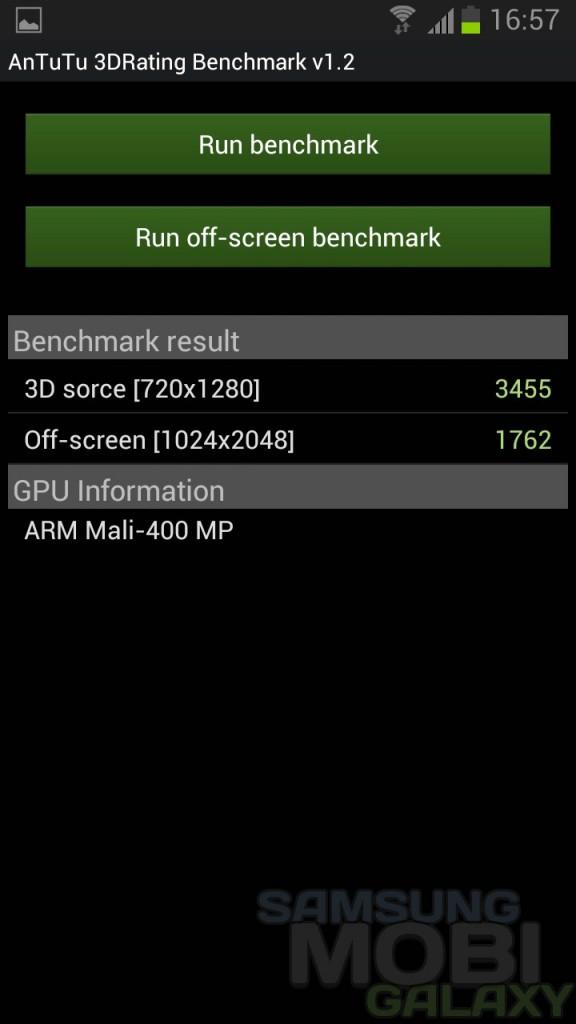 3DRating Benchmark от AnTuTu для Samsung Galaxy