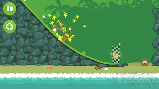 Bad Piggies HD - игра по мотивам Angry Birds для Samsung Galaxy