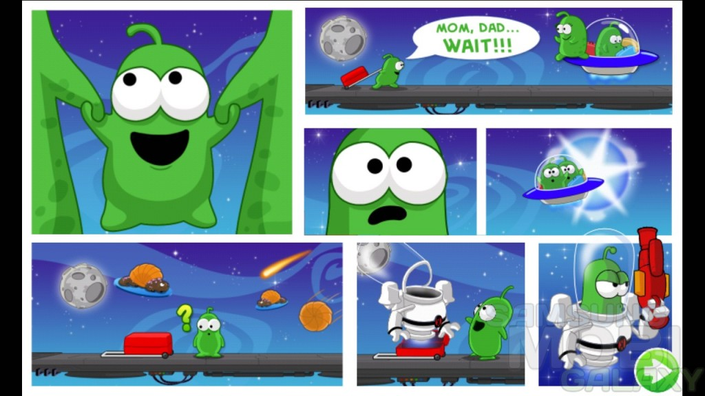 Bert In Space - веселая аркада