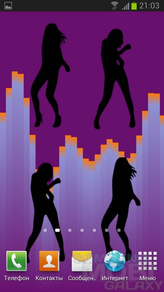 Dance Girl - живые обои с девушками для Android