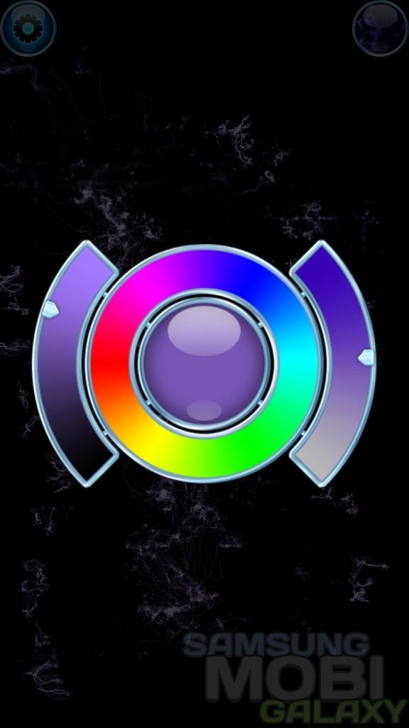 Программа Nebula Composer для Android, цвета