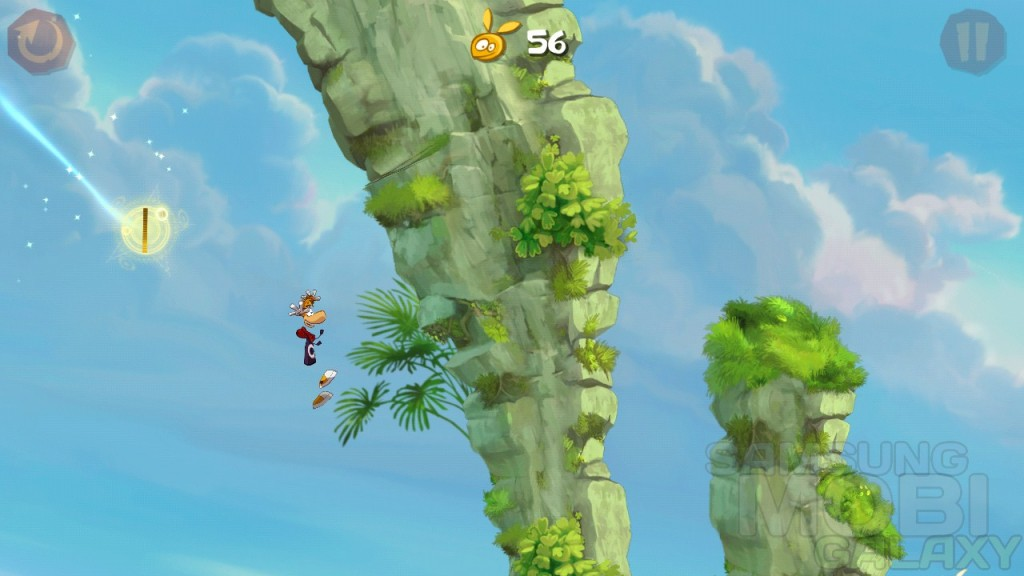 Аркада Rayman Jungle Run - игра для Android