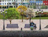Riverside Park - живые обои для Samsung Galaxy