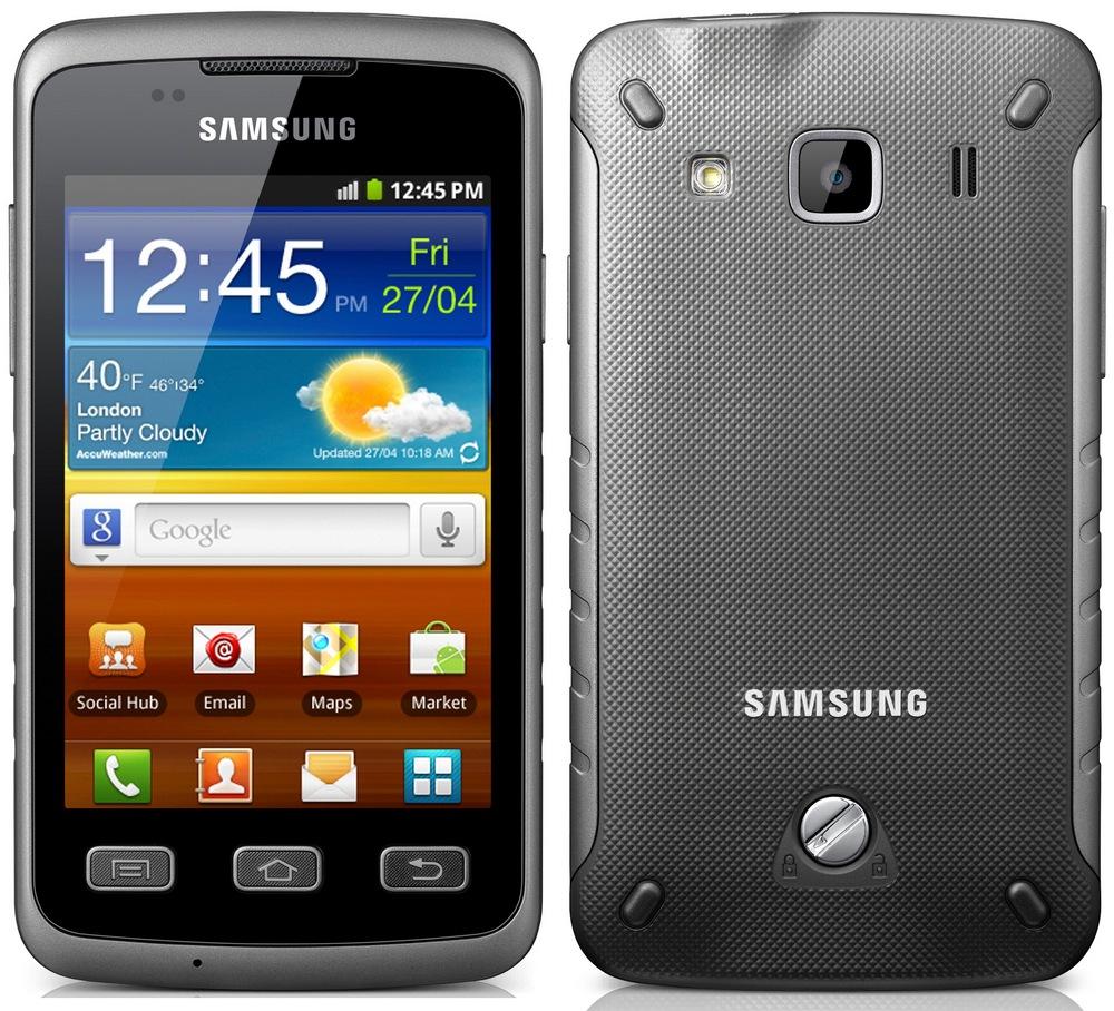 Внешний вид Samsung Galaxy Xcover S5690