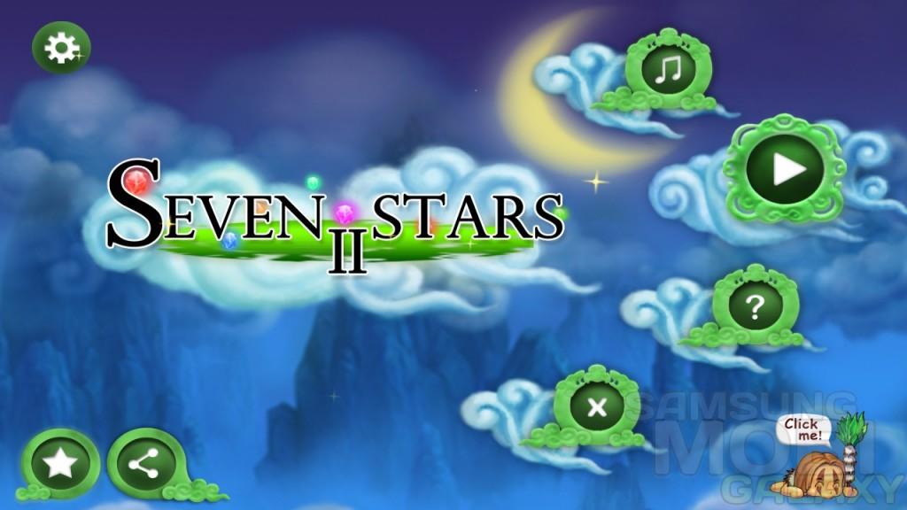 Seven Stars 3D II — катаем шарик в космосе