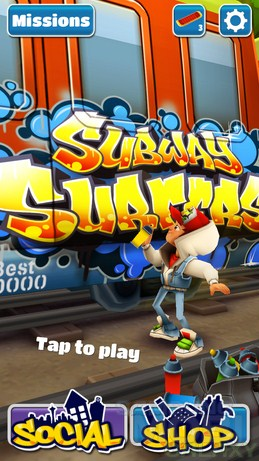subway surfers 3d супер раннер samsung galaxy ace 2 subway