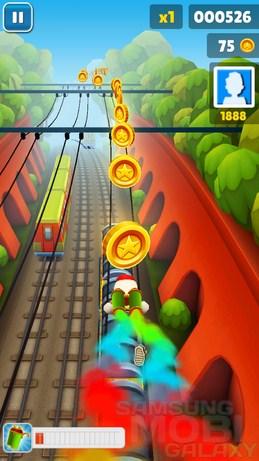 Игра Subway Surfers 3D для Samsung Galaxy