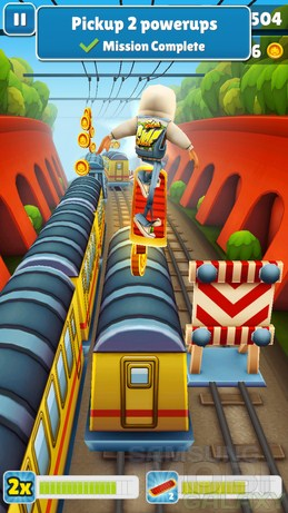 Игра Subway Surfers 3D для Android